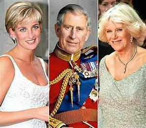 Prince Charles, the Late Princess Diana, and Camilla ...