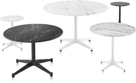 herman miller table base eames round contract base outdoor table hivemodern com