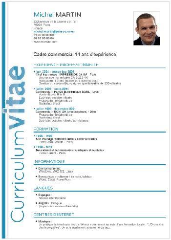 Modele Cv Informatique Word by Modele De Cv Informatique