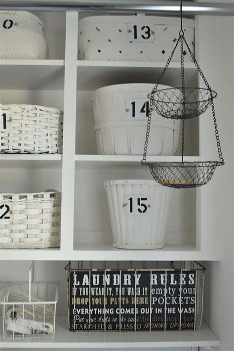 Small Laundry Room Solutions :: 2 Bees in a Pod   Vicki