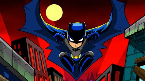 batman cartoon art  hd superheroes  wallpapers