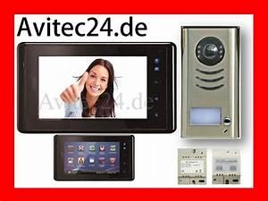 Türsprechanlage Funk Video : video t rsprechanlage gegensprechanlage bildspeicher 2 draht ~ Orissabook.com Haus und Dekorationen
