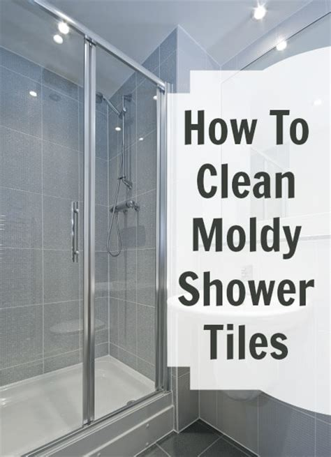 moldy shower tile cha cha cha