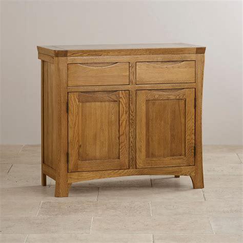 Oak Furniture Sideboard by Orrick Small Sideboard In Rustic Solid Oak Oak Furniture