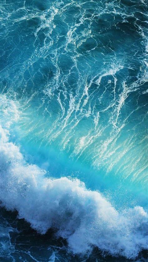 blue waves iphone  wallpaper hd wallpapers hd