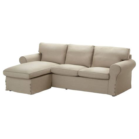ektorp loveseat and chaise lounge risane beige