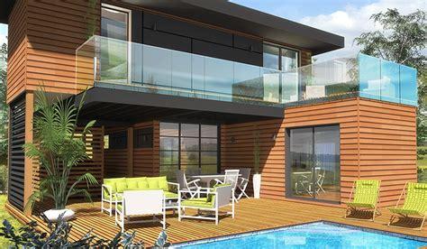 constructeur maison bois loire atlantique maison ossature bois 224 233 tage 65 m 178 2 chambres