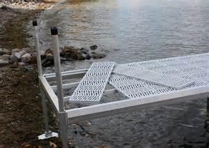 aluminum leg wheel docks