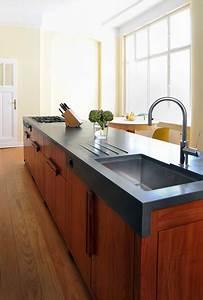 Küche Aus Beton : wohnk che im berliner zimmer aus platane und beton arbeitsplatte modern k che berlin von ~ Sanjose-hotels-ca.com Haus und Dekorationen