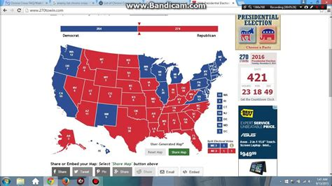 2016 Presidential Election Prediction (Update) - YouTube