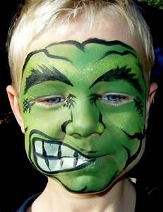 Maquillage Halloween Garçon : maquillage hulk ~ Melissatoandfro.com Idées de Décoration