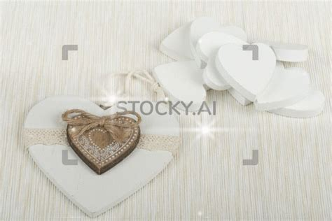 sparkling gif  valentines wooden hearts stocky