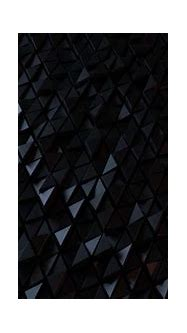 3D black triangles wallpaper - backiee