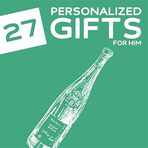 27 thoughtful personalized gifts for him for Customised gifts for him