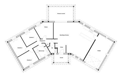 plan de maison plain pied 4 chambres avec garage plan maison 140m2 plain pied voici les nouveaux plans