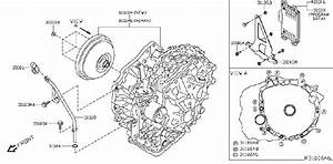 Nissan Rogue Pipe Oil Charging  Fitting  Assembly  Fwd