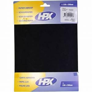 Papier Abrasif Carrosserie : papier abrasif eau hpx p1000 x 4 feu vert ~ Melissatoandfro.com Idées de Décoration