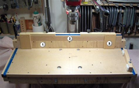 microadjustable mortising jig