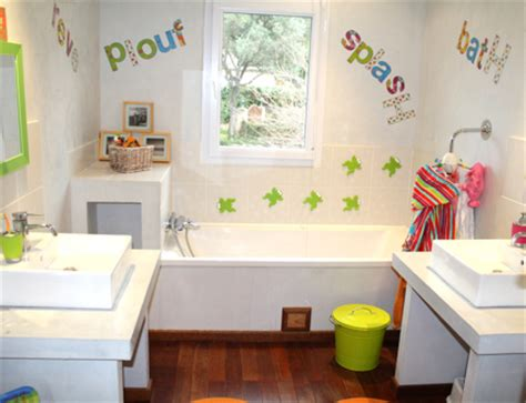 conseils d 233 co salle de bain pour 3 enfants peinture faience salle de bain