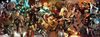 Marvel Comics Wallpapers Desktop Universe Backgrounds Pc