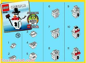 Lego 30008 Snowman Polybag Set Parts Inventory And