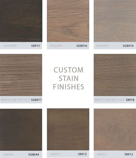gray stained hickory cabinets   Grabill Turns Its Custom
