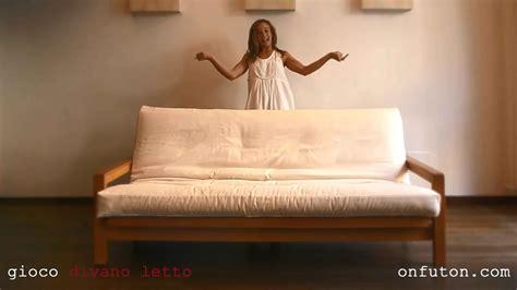 Divani Letto Onfuton Design Naturale Gioco