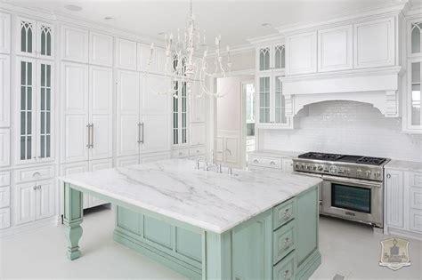 green kitchen islands white kitchen with mint green island transitional kitchen