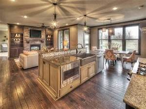 open kitchen floor plans open floor plan photo With kitchen design open floor plan