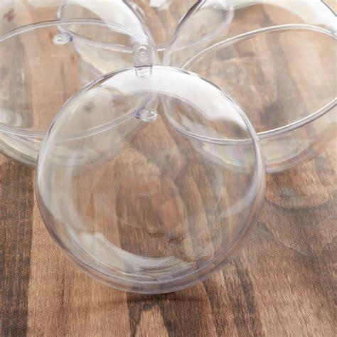 bulk mm clear acrylic fillable ball ornaments acrylic