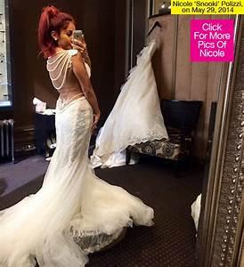 snooki wedding dress star shows off stunning vintage With snooki wedding dress