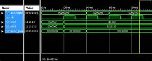 Verilog Output Is Delay By 1 Clock Cycle