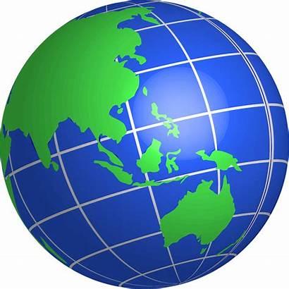 Globe Clipart Oceania Clip Transparent Cliparts Basic
