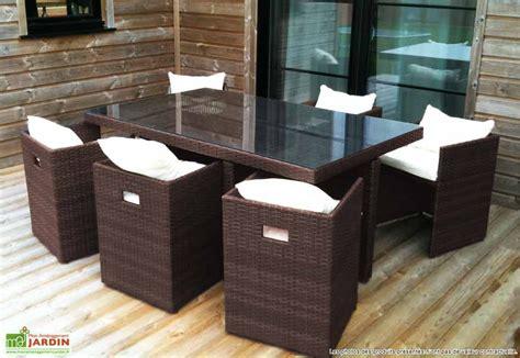 table et chaise resine tressee pas cher ensemble de jardin en resine ensemble table et chaise de