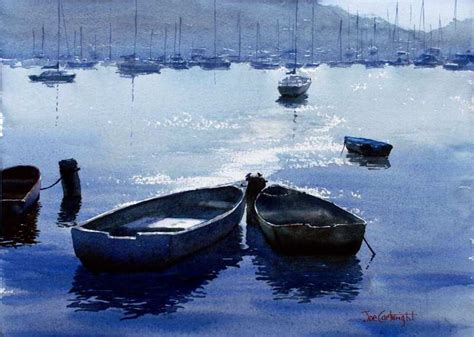 Water Boat by Watercolor Paintings Boats And The Sea Gallery Seascapes