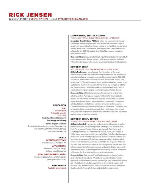 Copywriting Resume by 17 Best Images About Copywriting Resumes On