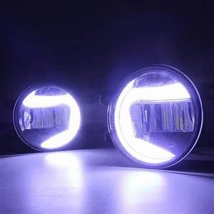 2010 Toyota Camry Led Lights 2in1 Highlight Led Drl Daytime Running Light Led Fog Lamp