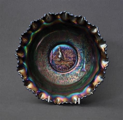 carnival glass value amethyst carnival glass master bowl kangaroo registered carnival glass carter s price