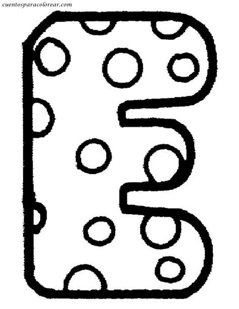 dibujos para colorear letras