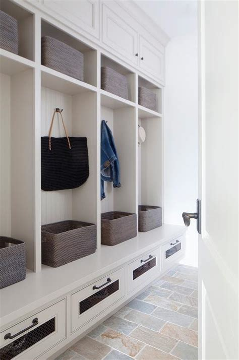 Mudroom Design  Cottage  Laundry Room  Molly Frey Design