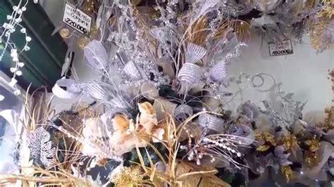 varias ideas para decorar el arbol de navidad plata 2015