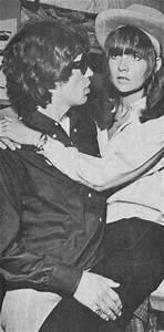 Chrissie Shrimpton & Mick Jagger, 1965. | Groupies, Band ...