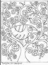 Rug Folk Hooking Patterns Coloring sketch template