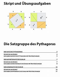 Kathetensatz Berechnen : satz des pythagoras aufgaben und herleitung pythagoras ~ Themetempest.com Abrechnung