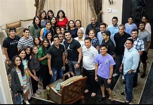 Fans like Family: Fans host a dinner party for Maniesh at ...