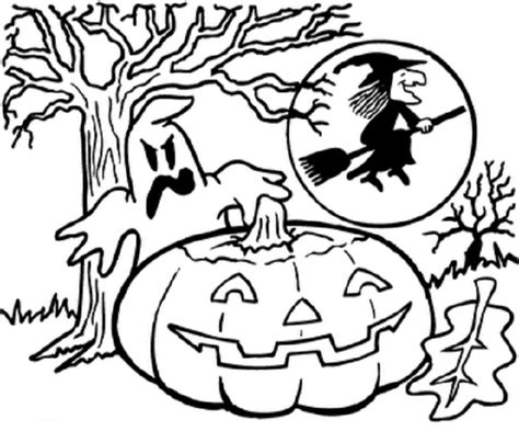 Garfield Halloween Coloring Pages 2320211