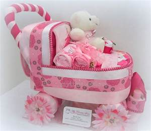 My Timeless Love Diaper Cake  Baby Carriage Diapercake