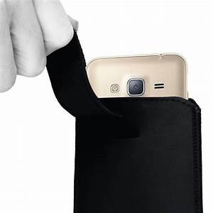 Smartphone Tasche Leder : tasche leder f r samsung galaxy j3 2017 pull tab sleeve h lle cover schwarz nauc handy taschen ~ Orissabook.com Haus und Dekorationen