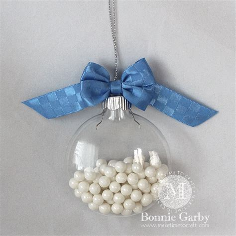 bow topped christmas ornament tutorial with the zutter bow