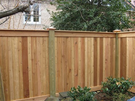 Different Styles Of Wood Privacy Fence • Fences Ideas